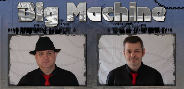 Big Machine - Duo Act to book in Carlisle, Cumbria